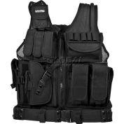"""Barska Loaded Gear VX-200 Tactical Vest (Left Handed Use), 22""""L x 38-50""""W"""