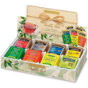 Bigelow®  Fine Tea Tray Gift, Assorted Flavors, Single Cup Bags, 64/Box