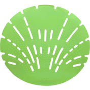 Big D Pearl Urinal Screen - Calypso Lime 10/Case - 622