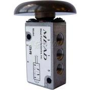 "Bimba-Mead Air Valve LTV-PB, 5 Port, 2 Pos, Manual, 1/8"" NPTF Port, Basic Valve For Side Mt"