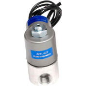 "Bimba-Mead Air Valve Solenoid MB12-2CSC-12VDC, 1/8"" NPTF, 2 Port, 2 Pos, Normally Clsd, 12VDC"