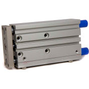 """Bimba-Mead Air Linear Guided Slide MTCL-40X100-S-T, Ball Bearing, 1/4"""" NPT, 40mm Bore, 100mm Stroke"""