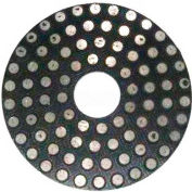 "WerkMaster™ Stone Tooling, 002-1046-00, 4"" Metal Flex Pads 150G, 1 Pack"