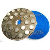 """WerkMaster™ Stone Tooling, 002-1096-00, 3"""" Metal Rigid Pads 60G, 1 Pack"""