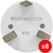 WerkMaster Termite XT Glue/Mastic/Cure & Seal Removal Package for Soft Concrete - 020-0420-0S