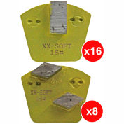WerkMaster Raptor XTi Glue/Mastic/Cure & Seal Removal Package for Hard Concrete - 020-0483-0H