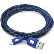 BT Saphire PwrMate 6.5 ft. Charge & Sync Cable with Lightning Connector - Blue