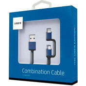 The Uber Edition™ 2-in-1 Micro-USB/Lightning Combo Cable - 5 ft.