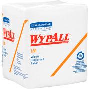 """WypAll® L30 Quarterfold Wipers - 12-1/2""""w x 14-3/8""""d - KIM05812"""
