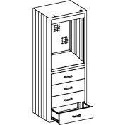 Blickman Medical Desk Storage Cabinet