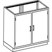 Blickman One Shelf Base Medical Cabinet, 35 x  22 x 35-3/4