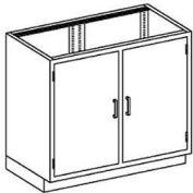 Blickman One Shelf Base Medical Cabinet, 47 x  22 x 35-3/4