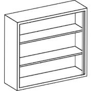 """Blickman G35LS Stainless Steel Wall Cabinet with 2 Shelves, 35""""W x 13""""D x 30""""H"""