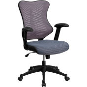 Flash Furniture Executive Swivel Ergonomic Office Chair - Adjustable Arms - Mesh - High Back