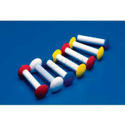 "Bel-Art Circulus™ Magnetic Stirring Bar 371700003, 1-1/4""L x 13/16"" Dia., Blue, 1/PK - Pkg Qty 50"