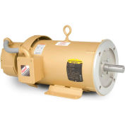 Baldor Unit Handling Motor, CEBM3611T-D, 3 PH, 3 HP, 208-230/460 V, 1760 RPM, TEFC, 182TC Frame