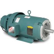 Baldor-Reliance Unit Handling Motor, CEBM3710T-D, 3 PH,7.5 HP,208-230/460V,1770 RPM,TEFC,213TC Frame