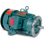 Baldor Motor CECP3660T, 3HP, 3520RPM, 3PH, 60HZ, 182TC, TEFC, FOOT