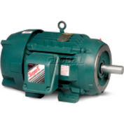 Baldor-Reliance Severe Duty Motor, CECP3665T, 3 PH, 5 HP, 208-230/460 V, 1750 RPM, TEFC, 184TC Frame
