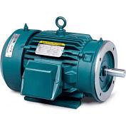 Baldor Severe Duty Motor, CECP3774T, 3 PH, 10 HP, 230/460 V, 1760 RPM, TEFC, 215TC Frame