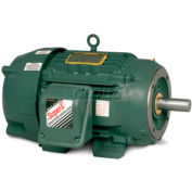 Baldor Severe Duty Motor, CECP83661T-4, 3 PH, 3 HP, 460 V, 1755 RPM, TEFC, 182TC Frame