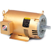 Baldor General Purpose Motor, 230/460 V, 15 HP, 3475 RPM, 3 PH, 215TC, OPSB