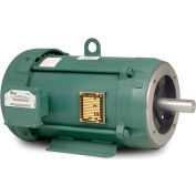Baldor Explosion Proof Motor, CEM7037T-I, 3PH, 2HP, 230/460V, 1755RPM, 145TC