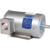 Baldor-Reliance Motor CESWDM3546, 1HP, 1740RPM, 3PH, 60HZ, 56C, 3524M, TENV, F1, N