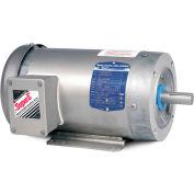 Baldor-Reliance Washdown Motor CESWDM3559T, 3 PH, 3 HP, 3475 RPM, 208-230/460 V, TEFC, 145TC FR