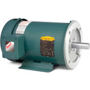 Baldor-Reliance Unit Handling Motor, CEUHM3615T, 3 PH, 5 HP, 208-230/460 V,1750 RPM,TEFC,184TC Frame