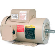 Baldor-Reliance Motor CFDL3507M, .75HP, 1725RPM, 1PH, 60HZ, 56C, 3432LC, TEFC, F
