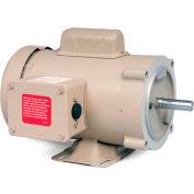 Baldor Motor CFDL3510M, 1HP, 1725RPM, 1PH, 60HZ, 56CH, 3524L, TEFC, F1
