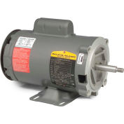 Baldor Motor CJL1317A, 2HP, 3450RPM, 1PH, 60HZ, 56J, 3528L, OPEN, F1, N