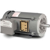 Baldor-Reliance Motor CL5028T, 3HP, 3450RPM, 1PH, 60HZ, 184TC, 3634L, XPFC, F1
