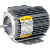 Baldor Motor CNL20172, .17HP, 3450RPM, 1PH, 60HZ, 42C, 2524C, TENV, F1