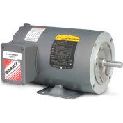 Baldor-Reliance Motor CNM3457, .33HP, 3450RPM, 3PH, 60HZ, 56C, 3410M, TENV, F1