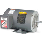 Baldor Motor CNM3542, .75HP, 1750RPM, 3PH, 60HZ, 56C, 3514M, TENV, F1