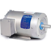 Baldor-Reliance Washdown Motor CSWDM3537, 3 Phase, 0.5 HP, 3450 RPM, 208-230/460 Volts, TENV, 56C FR