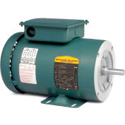 Baldor-Reliance Motor CUHL3519, 1HP, 1725RPM, 1PH, 60HZ, 56C, 3524L, TEFC, F3, N