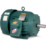 Baldor-Reliance Severe Duty Motor, ECP3580T, 3 PH, 1 HP, 208-230/460 V, 3450 RPM, TEFC, 143T Frame