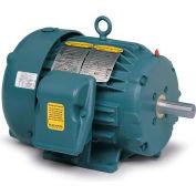 Baldor Severe Duty Motor, ECP83582T-4, 3 PH, 1 HP, 460 V, 1160 RPM, TEFC, 145T Frame