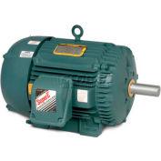 Baldor Severe Duty Motor, ECP83661T-5, 3 PH, 3 HP, 575 V, 1755 RPM, TEFC, 182T Frame