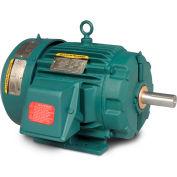 Baldor Severe Duty Motor, ECP83768T-4, 3 PH, 5 HP, 460 V, 1160 RPM, TEFC, 215T Frame