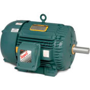 Baldor Severe Duty Motor, ECP84106T-4, 3 PH, 20 HP, 460 V, 3510 RPM, TEFC, 256T Frame