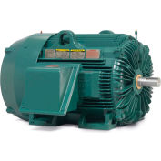 Baldor-Reliance Severe Duty Motor, ECP84410T-5, 3 PH, 125 HP, 575 V, 1785 RPM, TEFC, 444T Frame