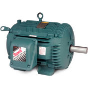 Baldor Motor ECTM3774T, 10HP, 1760RPM, 3PH, 60HZ, 215T, 0748M, TEAO, F1
