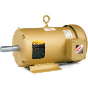 Baldor-Reliance F-2 Mount Motor, EFM3615T, 3 PH, 208-230/460 V, 5 HP, 1750 RPM, TEFC, 184T Frame