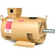 Baldor HVAC Motor, EHM3218TA, 3 PH, 5 HP, 208-230/460 V, 1750 RPM, OPSB, 184T Frame