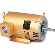 Baldor Pump Motor, EJMM3212T-G, 3 Phase, 5 HP, 208-230/460 Volts, 3600 RPM, 60 HZ, ODP, 182JM