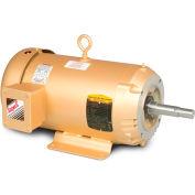 Baldor Pump Motor, EJMM3613T-G, 3 Phase, 5 HP, 208-230/460 Volts, 3600 RPM, 60 HZ, TEFC, 184JM